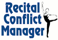Recital Conflict Manager